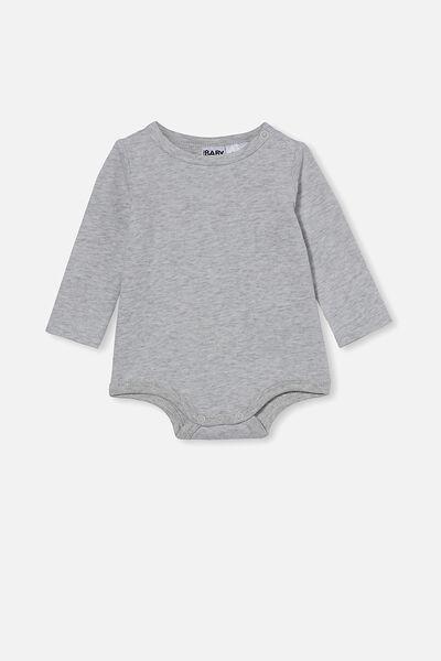 The Long Sleeve Bubbysuit, CLOUD MARLE