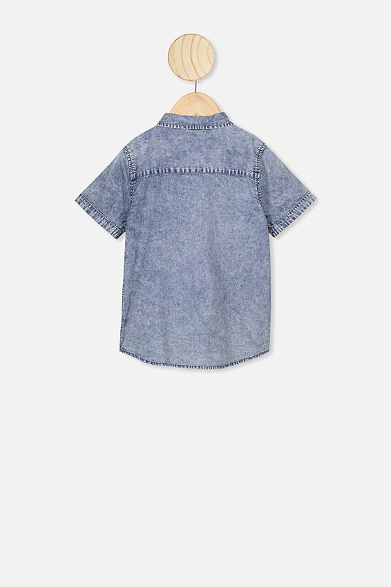Resort Short Sleeve Shirt, DNM WASH