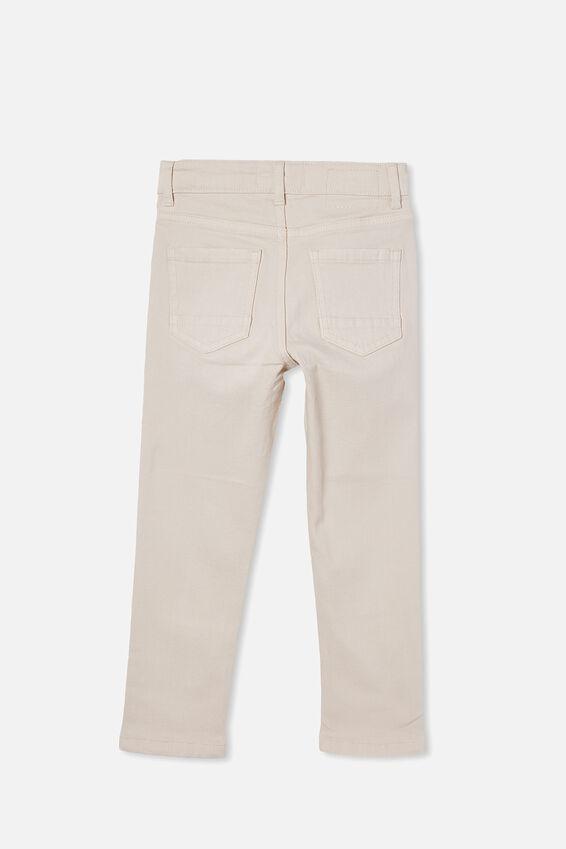 Ollie Slim Leg Jean, ECRU