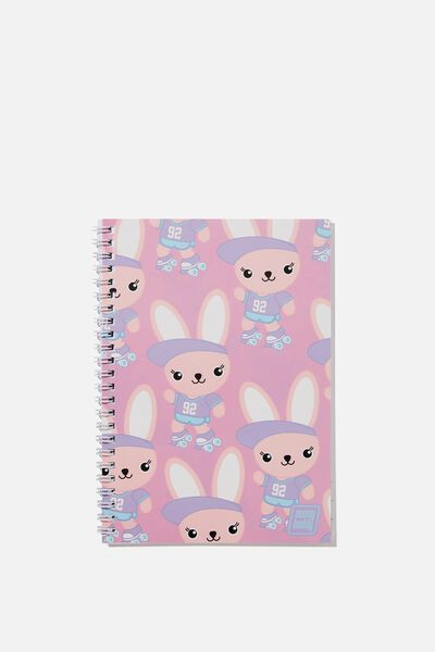 A5 Flip It Notebook, MIA ON A ROLL