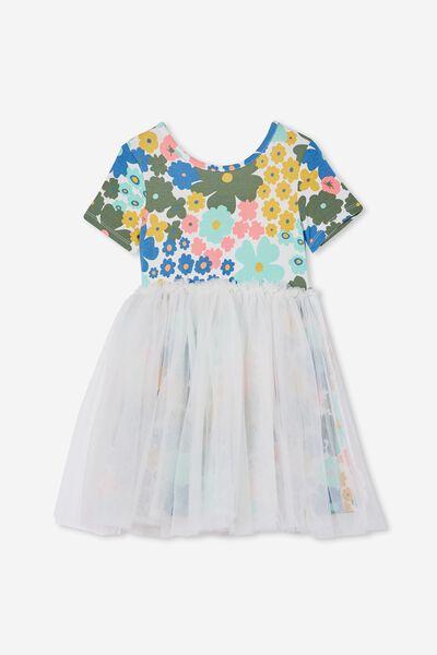 Sage & Clare Ivy Dress, LCN SAG FLORAL/VANILLA
