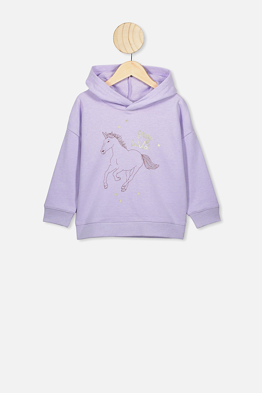 CHASER Girls' Unicorn Sweatshirt & Starry Sweatpants