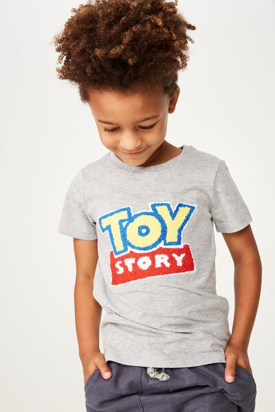 Short Sleeve License1 Tee, LCN DIS/LIGHT GREY MARLE/TOY STORY