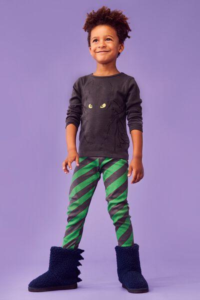 Harry Long Sleeve Boys PJ Set, LCN UNI HOW TO TRAIN YOUR DRAGON