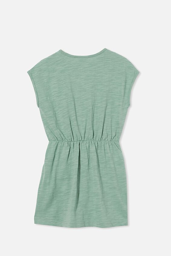 Sigrid Short Sleeve Dress, SMASHED AVO