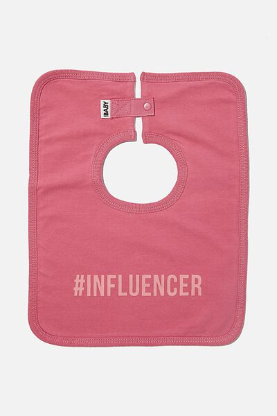 The Everyday Bib, MAUVE PLUM/INFLUENCER