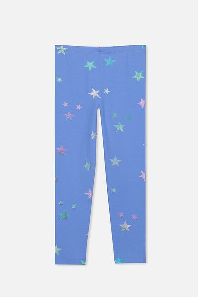 Huggie Leggings, MARINA/BLUE FOIL STAR