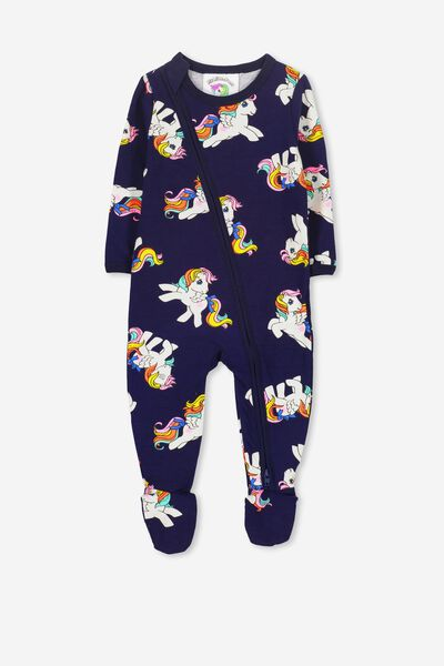 License Snug Zip Through All In One, PEACOAT/MY LITTLE PONY