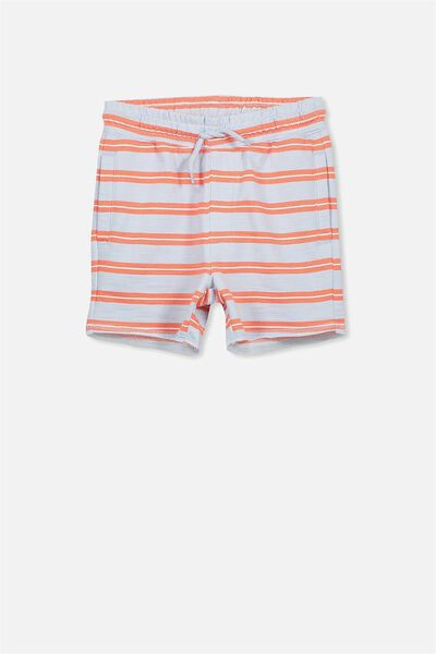 Henry Slouch Short, ARTIC BLUE/VINTAGE STRIPES