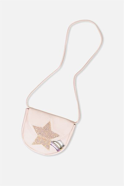 Shooting Star Bag, BUBBLEGUM PINK/STAR