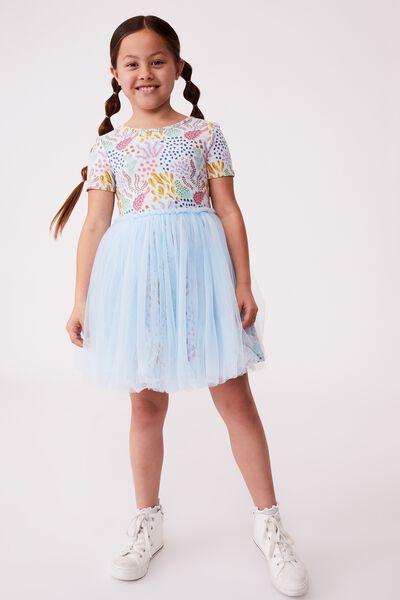 Sage & Clare Ivy Dress, LCN SAG DESERT FLORAL/FROSTY BLUE