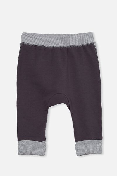 Sully Trackpant, RABBIT GREY/CLOUD MARLE