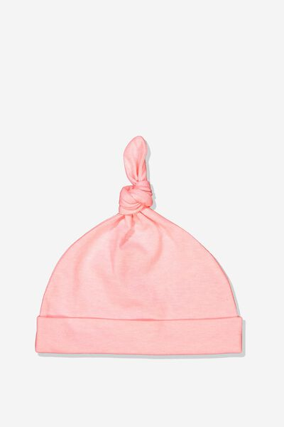 The Baby Beanie, PINK GRAPEFRUIT