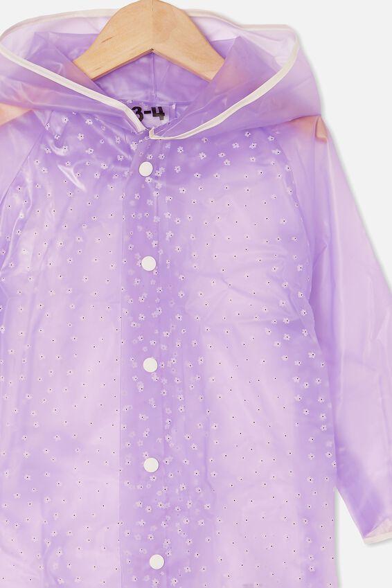 Cloudburst Raincoat, PALE VIOLET PUFF DAISY