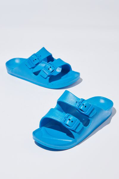Twin Strap Slide, BRILLIANT BLUE