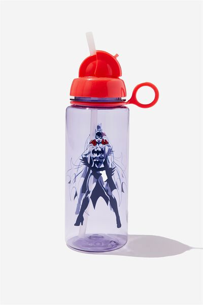 Spring Drink Bottle, LCN PURPLE BATGIRL