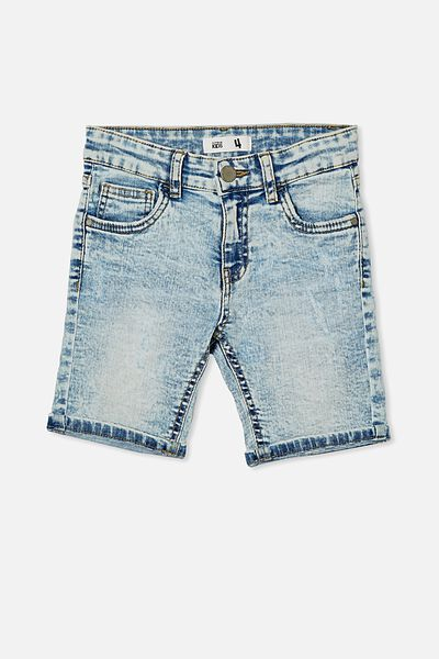 Bermuda Denim Short, UTAH LT BLUE WASH RR