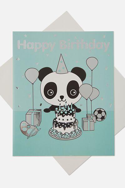 Sunny Buddy Gift Card, OLI PARTY