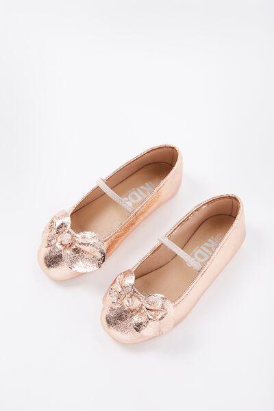 Ballet Flats, MINI BOW