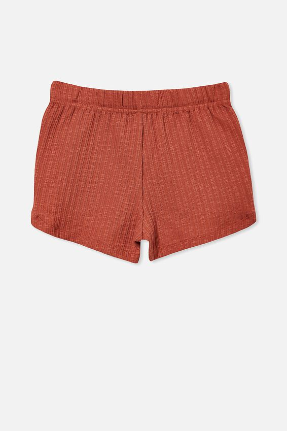 Gianna Knit Short, CHUTNEY RIB