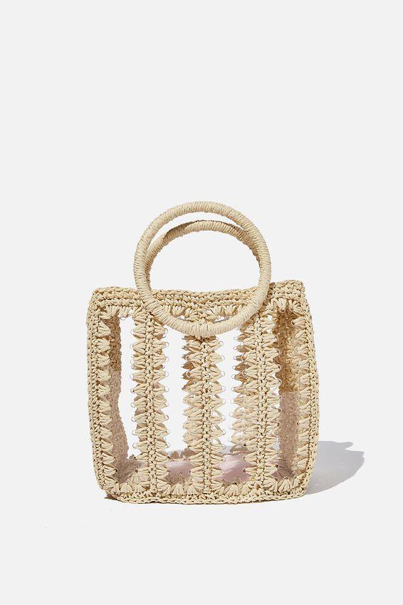 Nina Luxe Bag, NATURAL