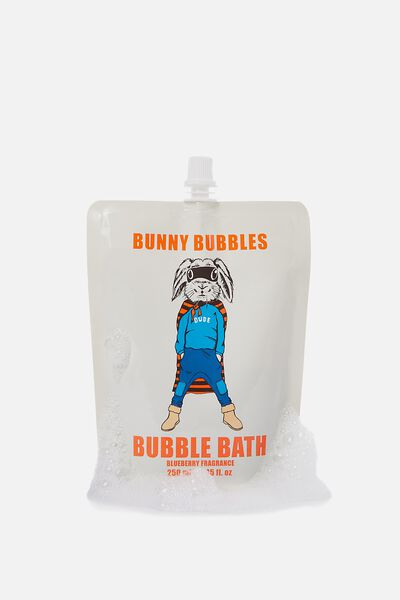 Bubble Bath, GREY BUNNY BUBBLES