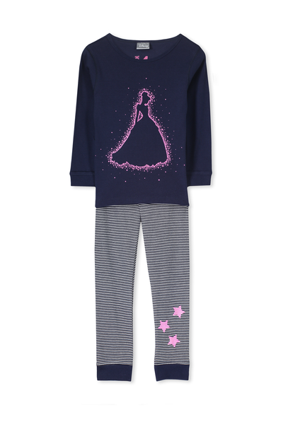 Kristen Long Sleeve Girls PJs, CINDERELLA SPARKLE
