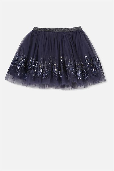 Trixiebelle Tulle Skirt, INK/TWINKLE