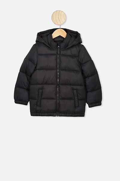 Frankie Puffer Jacket, BLACK R