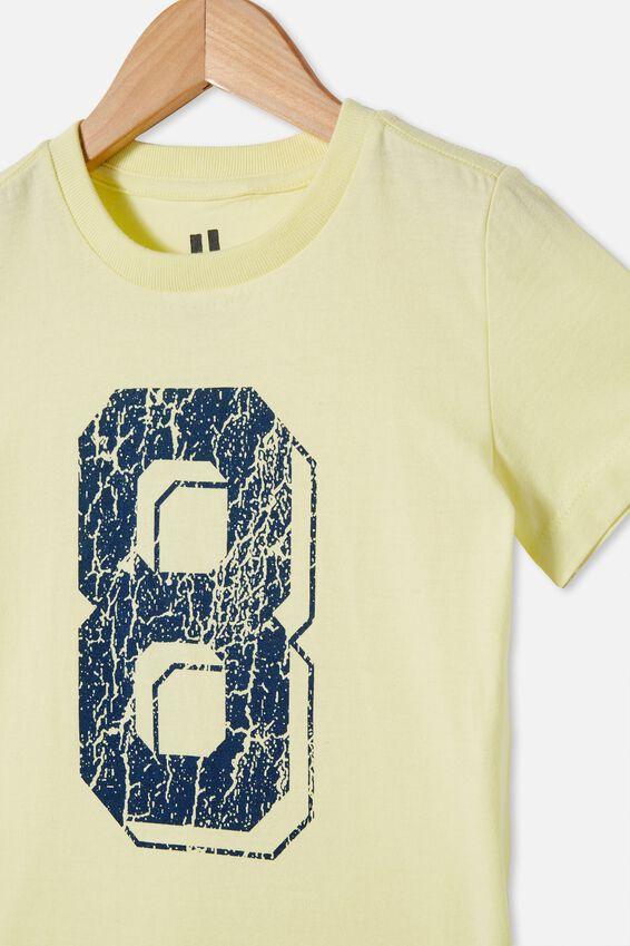Max Short Sleeve Tee, LEMONADE/INDIGO 8