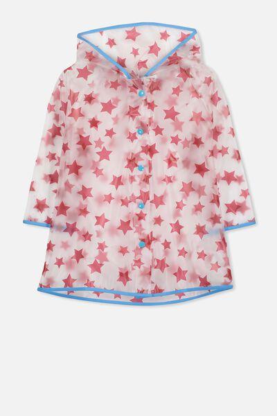 Cloudburst Raincoat, RED STAR