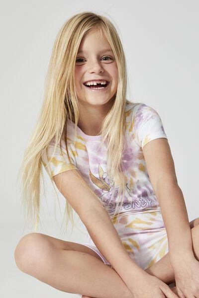 Nikki Short Sleeve Pyjama Set Licensed, LCN DIS RAINBOW TINKERBELL