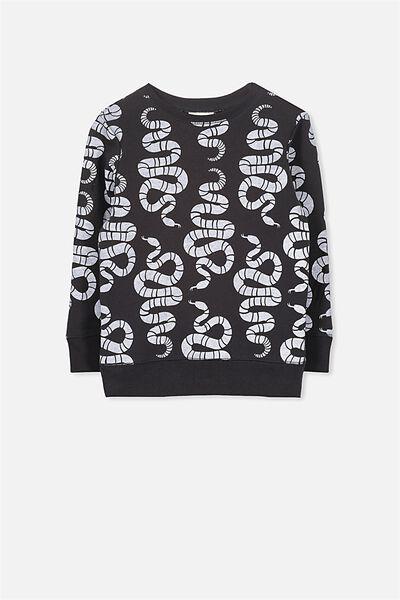 Lachy Crew Sweater, PHANTOM/SNAKES
