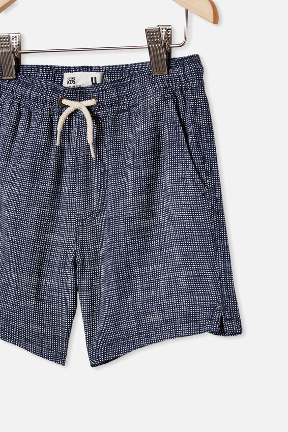 Los Cabos Short, MINI HATCHER CHECK/NAVY WHITE