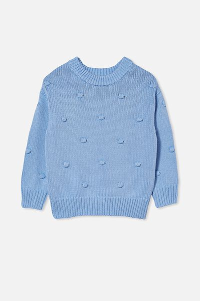 Pepper Knit Jumper, DUSK BLUE