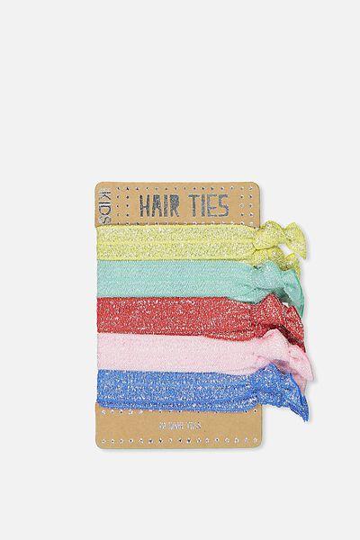 Knot Messy Hairties, RAINBOW