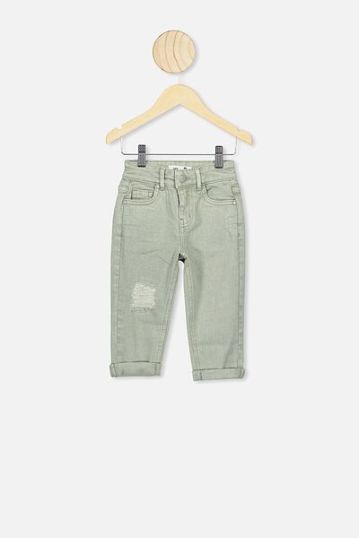 Indie Slouch Jean, SILVER SAGE