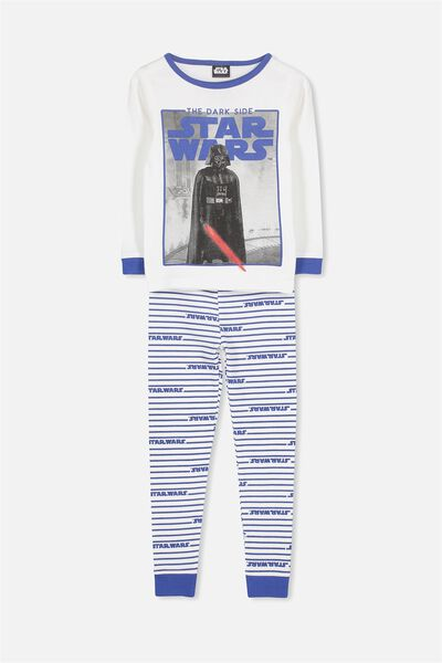 Dan Long Sleeve Boys PJs, LCN STAR WARS DARK SIDE