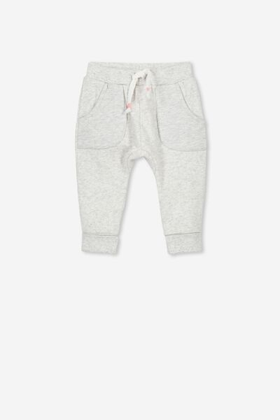 Shelby Trackpant, CLOUD MARLE/QUILTED