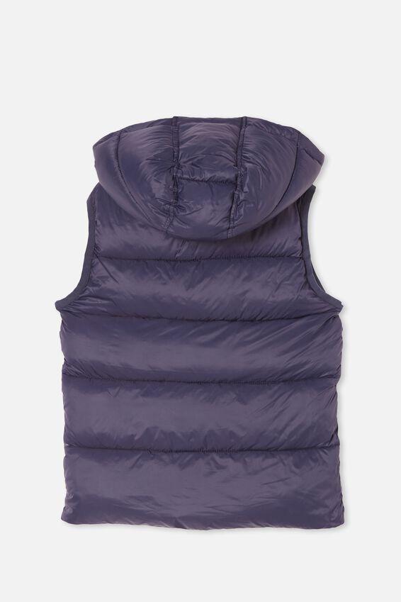 Billie Puffer Vest, INDIGO