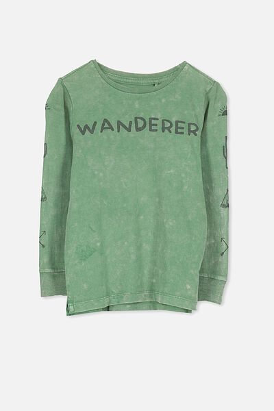 Tom Long Sleeve Tee, WANDERER SFW/SIS CUFF