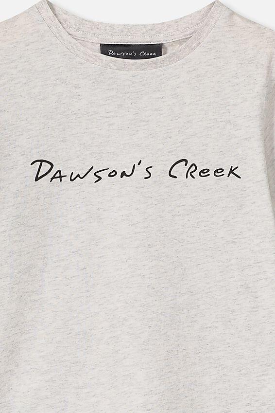 Lux Short Sleeve Tee, LCN DC SUMMER GREY MARLE/DAWSONS CREEK/MAX