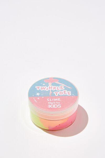 Kids Slime, TWINKLE TOES/YELLOW/PINK