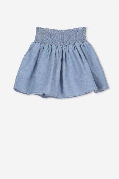 Sunday Skirt, LIGHT WASH