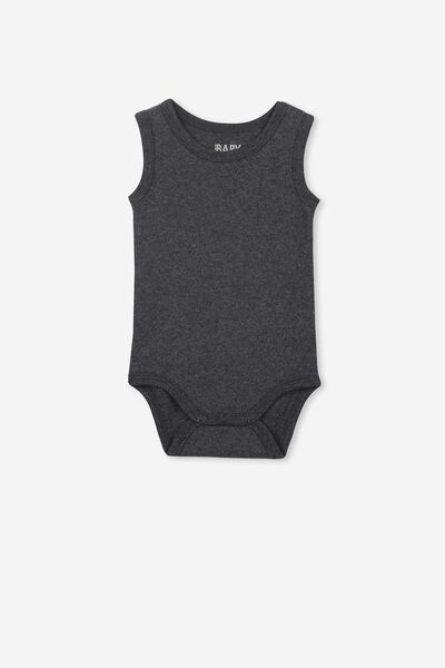 The Singlet Bubbysuit, GRAPHITE MARLE