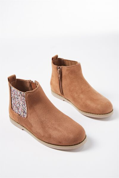 Peyton Chelsea Boot, TAN MULTI