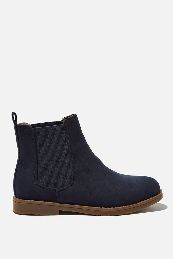 Chelsea Gusset Boots, VINTAGE NAVY