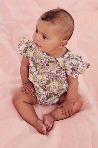 Lola Playsuit, LCN MAY ZEPHYR/BLOSSOM BABIES