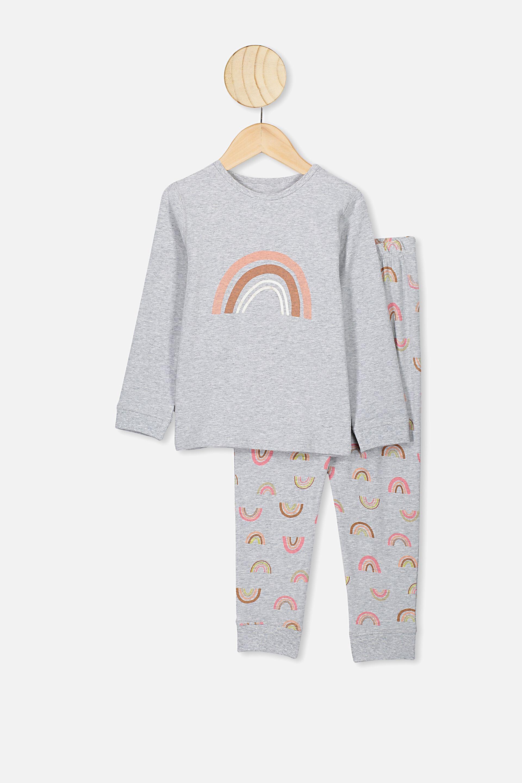 M /& S PURE COTTON Pyjamas Set 10-8-12-14-16-18-Short Sleeve Top /& Long Pants