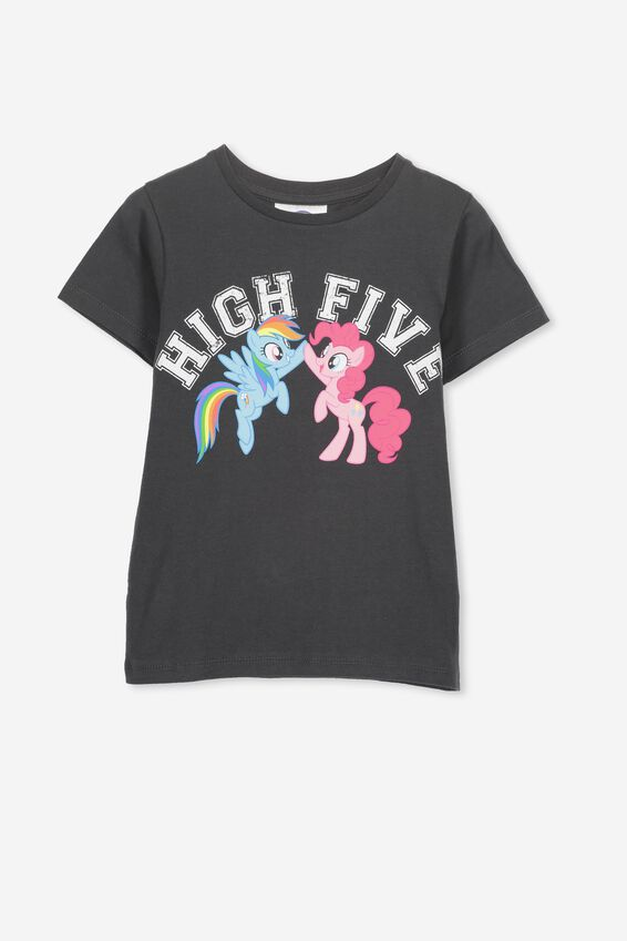 My Little Pony High Five Short Sleeve Tee, PHANTOM/MY LITTLE PONY HIGH FIVE